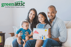 healthy home - happy family